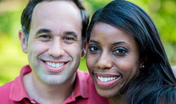 Amanda and Brett