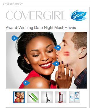 Cover Girl Ad