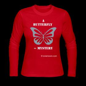 Butterfly mysteryTee-long sleeved