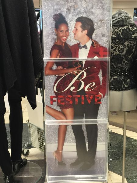 Macy's Winter Holiday Floor Advertisement - Boise, ID   2014_11_10